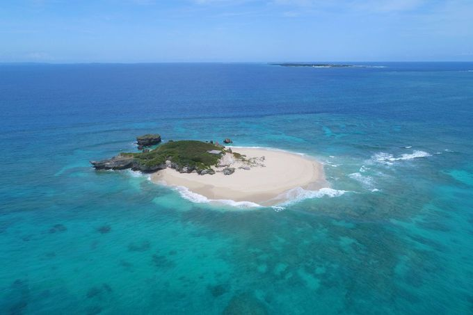 コマカ無人島でアクティビティも楽しめる