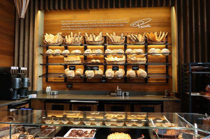 イタリアの高級ベーカリー「プリンチ」のパンにも注目