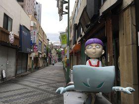 ゲゲゲの鬼太郎キャラクターが点在!東京・調布「天神通り商店街」