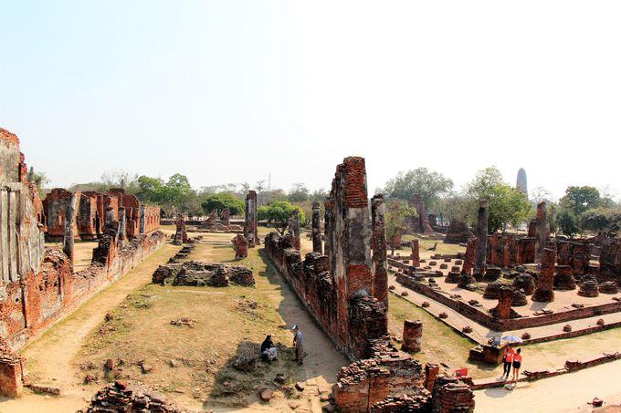 アユタヤ王朝の廃墟と化した「ワット・プラ・シー・サンペット」