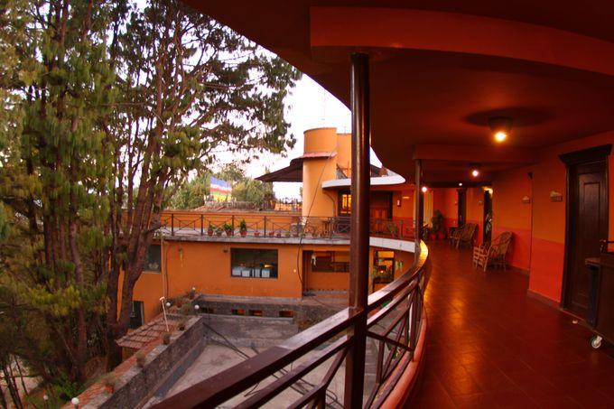 大自然に360度囲まれたホテル