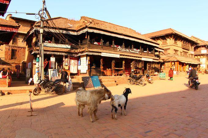1番古い町並みが残るタチュパル広場周辺の見所