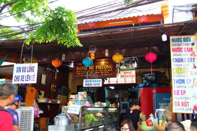 ベトナム一美味しいと噂のバイン・ミーのお店