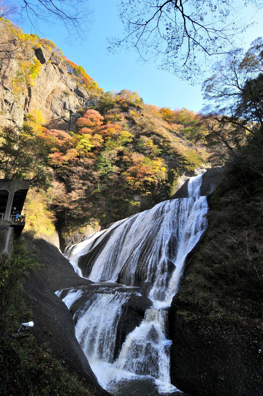茨城の紅葉名所!関東三大瀑布の一つ・袋田の滝と花貫渓谷