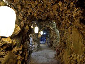 観音様を巡る400mの地下旅行!穴場スポット洞窟観音でちょっとした探検気分を!!群馬県高崎市山徳公園