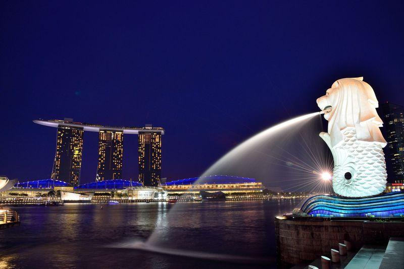 シンガポールの夜景撮影ベストスポットはここだ!