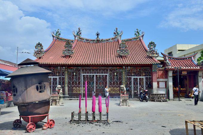 ペナン最古の中国寺院・観音寺