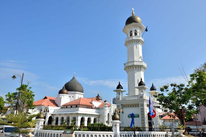 1801年創建のインド系モスク・カピタンクリンモスク