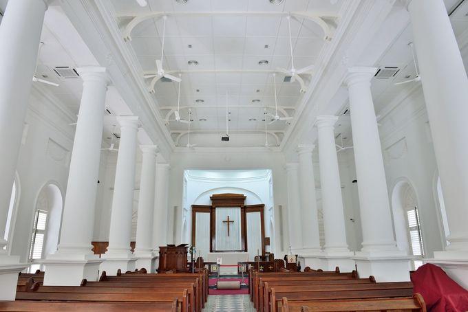 セントジョージ教会の内部