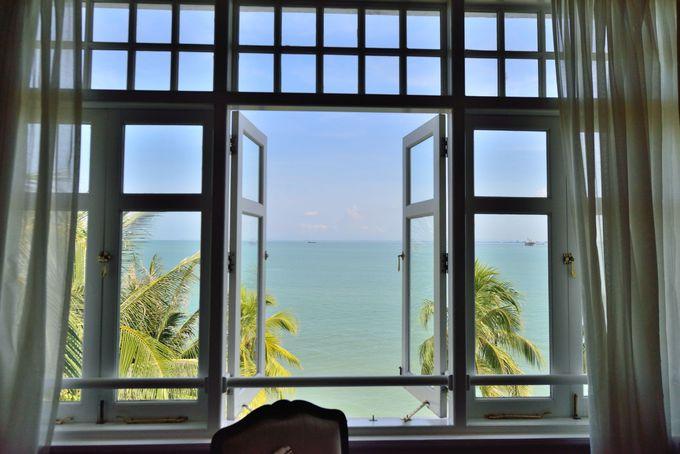 ヘリテージウイング、客室からの眺め