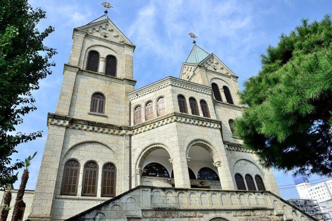 大谷石を使った昭和初期の見事な建築「カトリック松が峰教会」