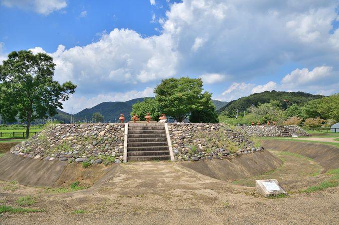 装飾器台が並ぶ2つの古墳・有年原田中遺跡