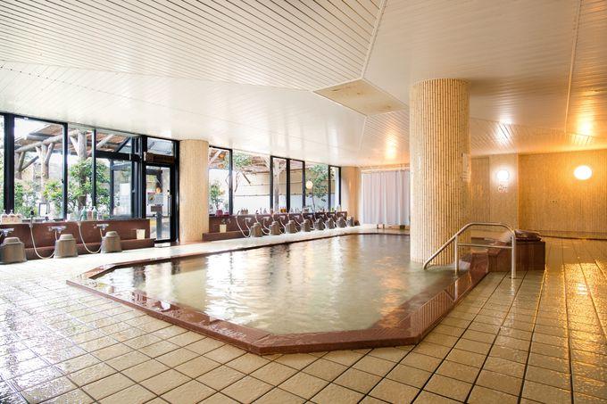 大浴場とプール