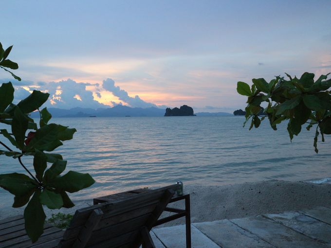 お部屋からの景色も海、海、海・・・