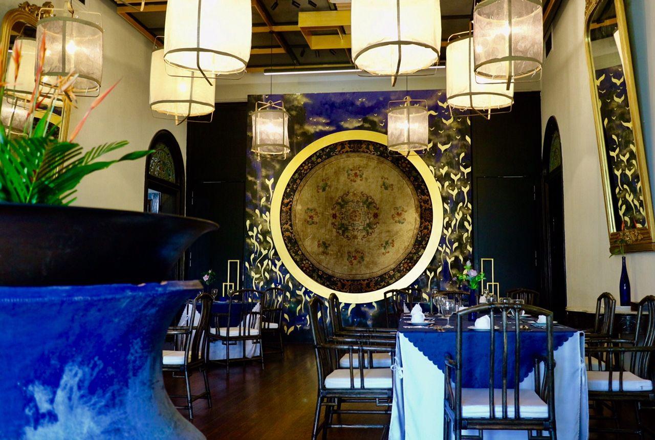 異空間、レストラン「インディゴ」