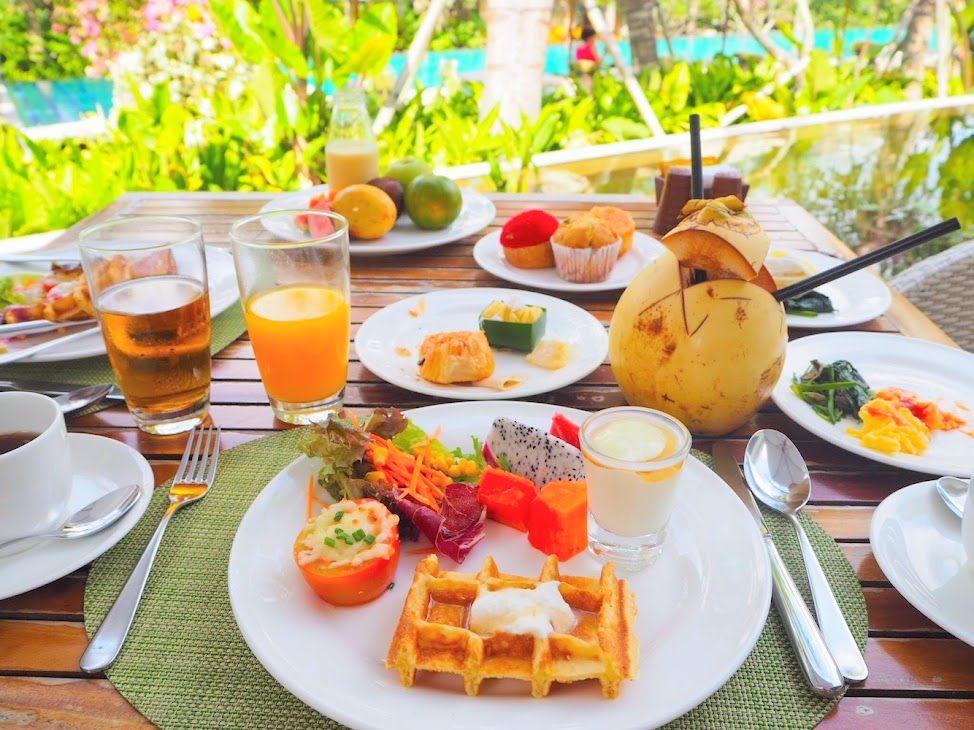 最高の1日の始まりを予感させる朝食