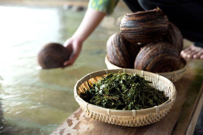お茶の香りで癒し効果抜群の温泉