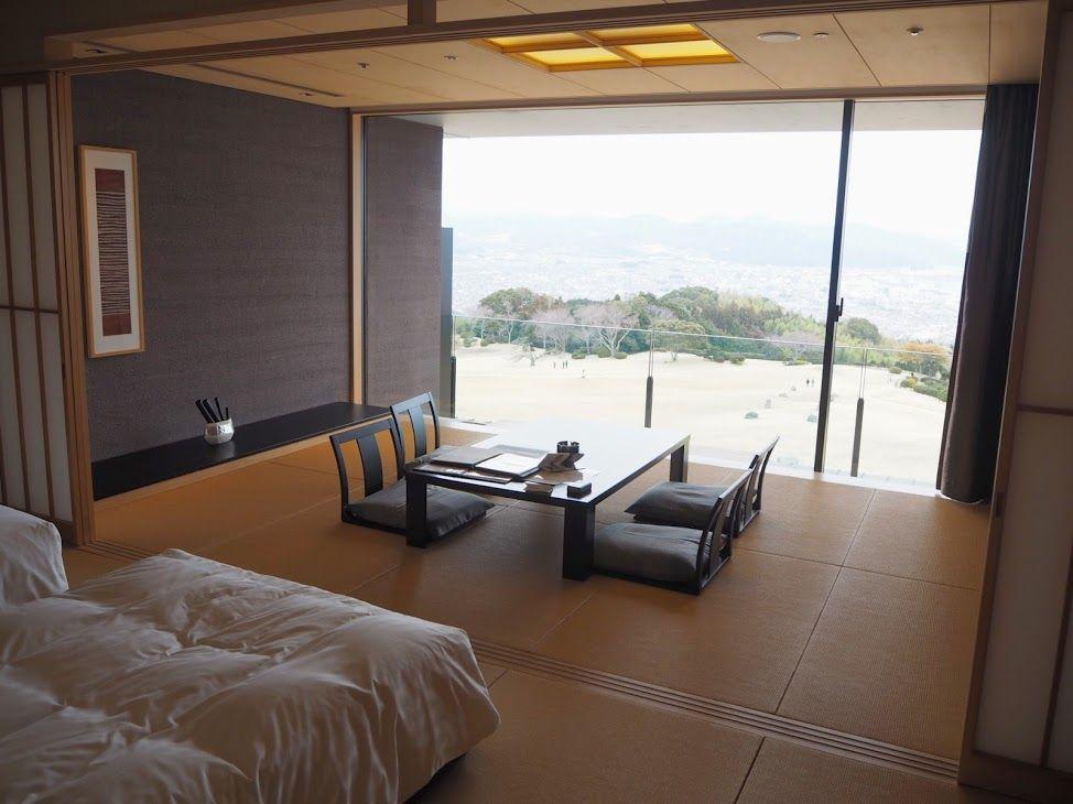 絶景を独り占めできる客室