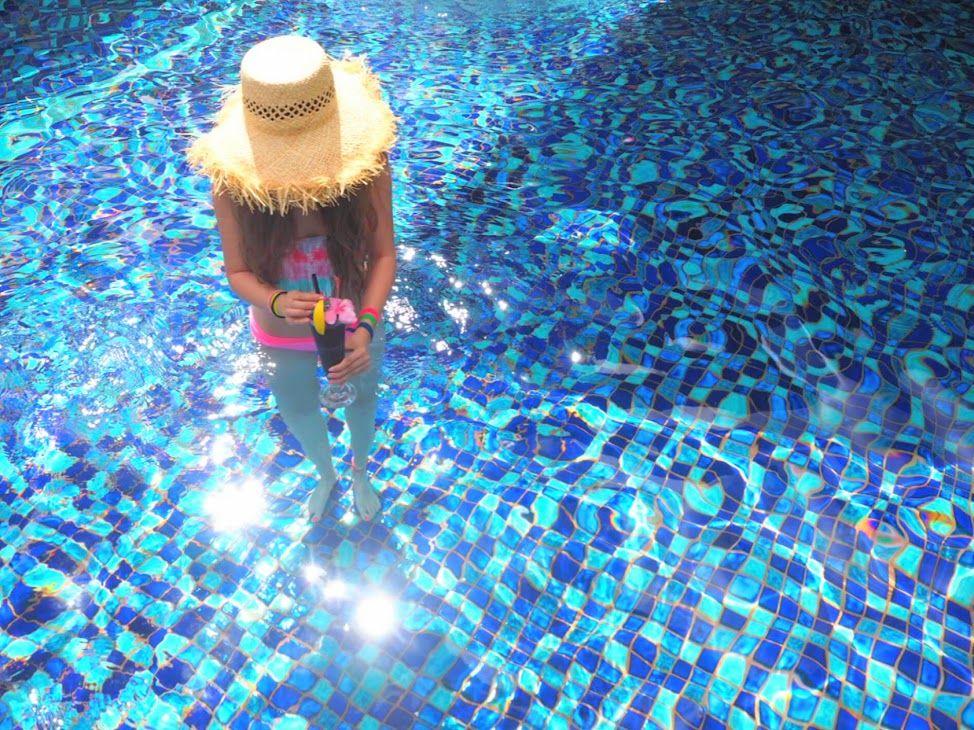 姉妹ホテル「リンバジンバラン」の6種類のプールも使い放題