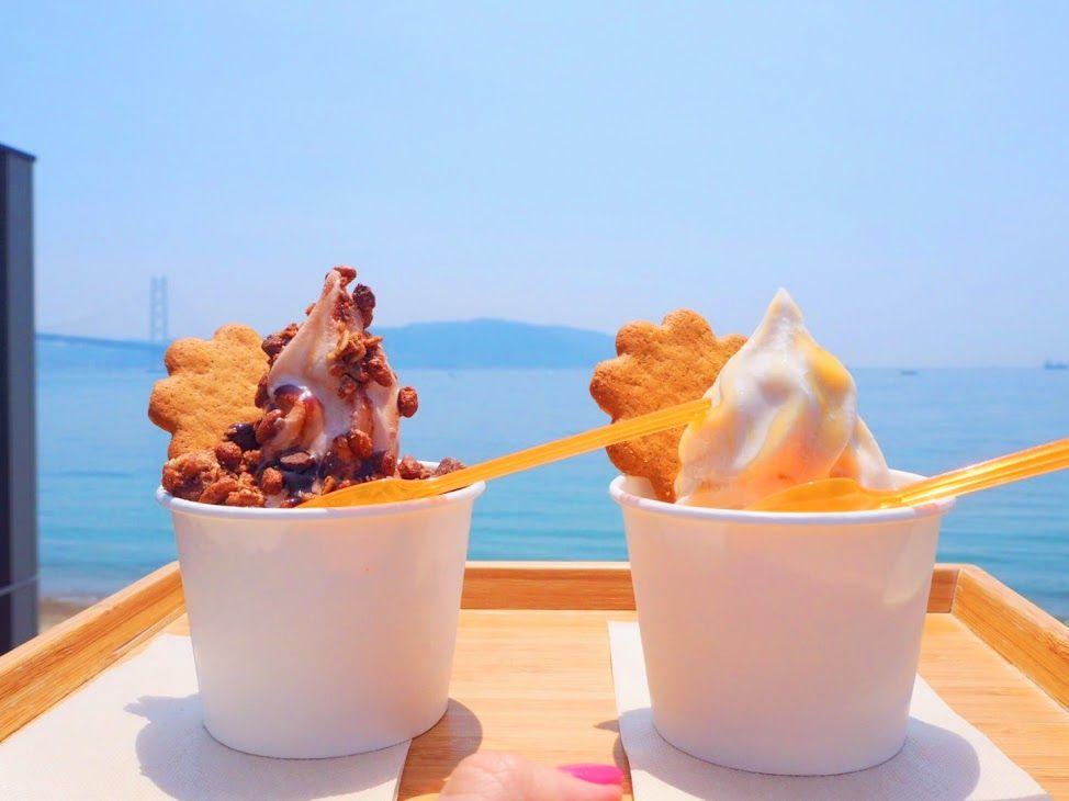 土日限定の絶景海カフェ!神戸舞子「CLTcafe」
