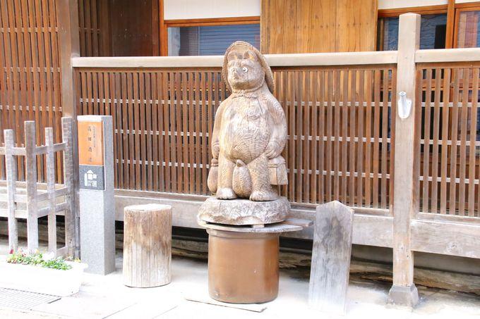 福の神の木彫