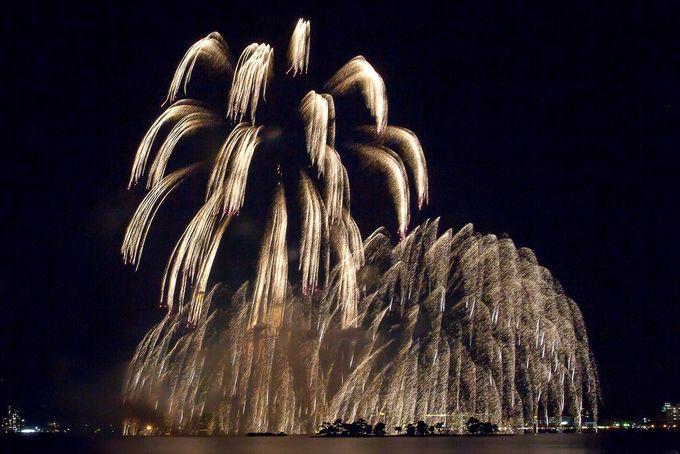 松江水郷祭で開催!山陰最大の花火大会「湖上花火大会」
