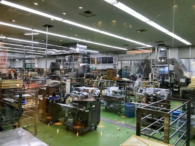 お買い物と一緒に工場見学