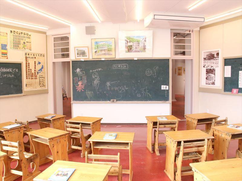 こんな校舎があったんだ!