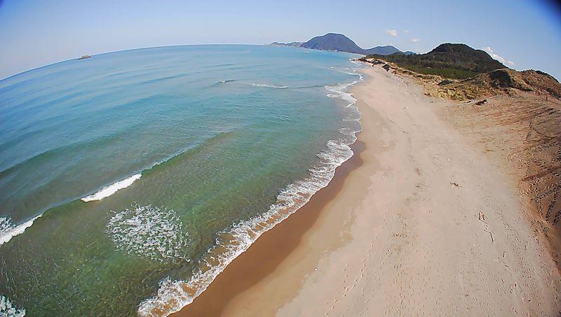 鳥取砂丘でドローン飛行をたのしみ素敵なショットを撮影しよう