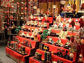 鳥取「三朝温泉雛巡り」で様々なお雛さまを楽しむ