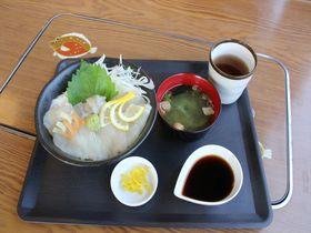 鳥取「海の駅とまり元気海」湯梨浜町特産ひらめ料理に舌つづみ