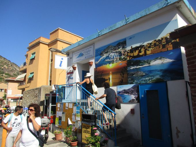 ジッリオ島への行き方と、島内の周り方