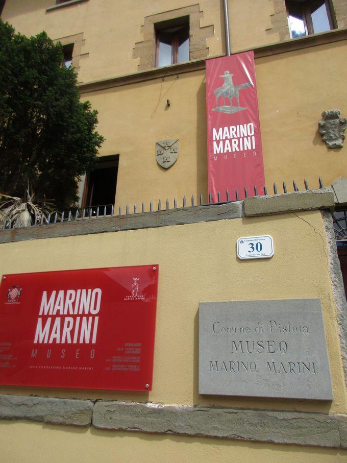 「マリーノ・マリーニミュージアム」で、その作品と生涯をくまなく知る