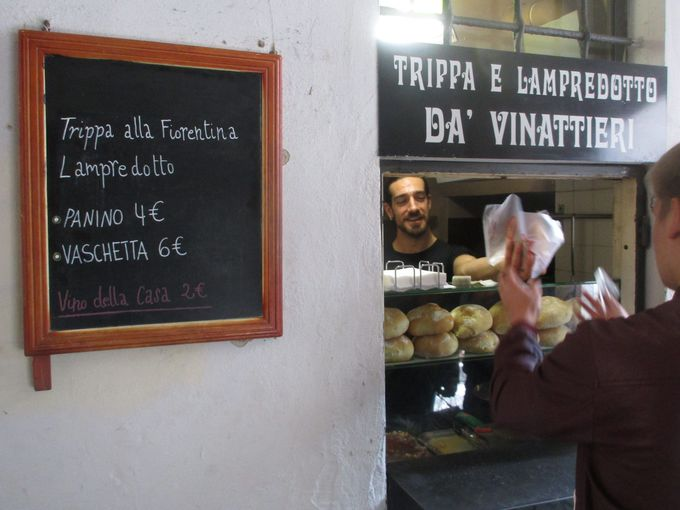 ランチ:フィレンツェ人のソウルフード「ランプレドット」で手早く&美味く