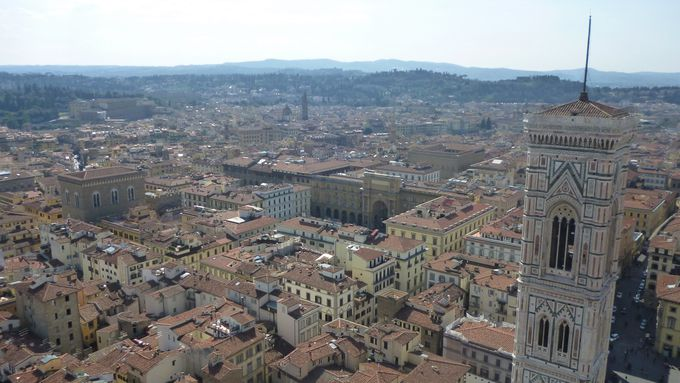 午前中:フィレンツェのシンボル「ドゥオモ」は、共通パスを有効活用