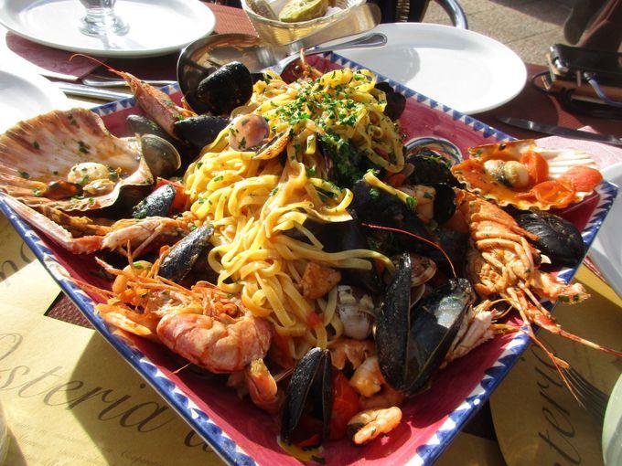イタリアの食べ物