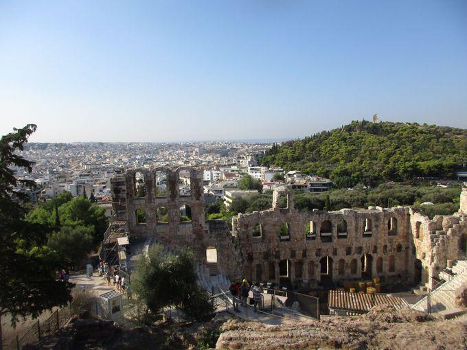 午前中:最大の見所「アクロポリス」をミュージアムも合わせて堪能