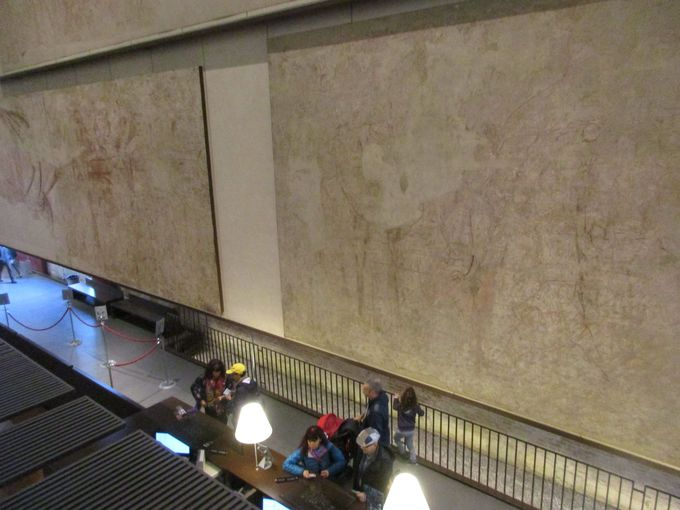 フレスコ画の下絵=シノーピアを集めた「シノーピエ博物館」