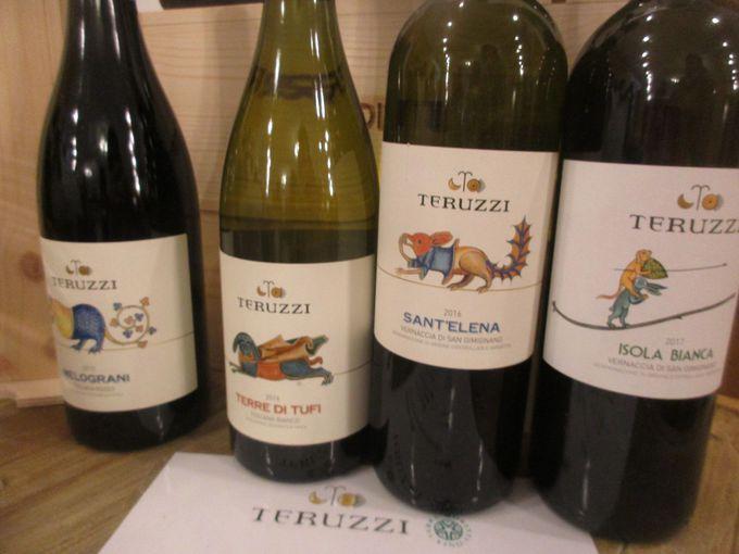トリュフの次は、隣のパビリオンでワインを堪能