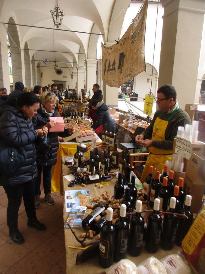 イタリア各地の美味しいものや、クラフトビールも楽しめます