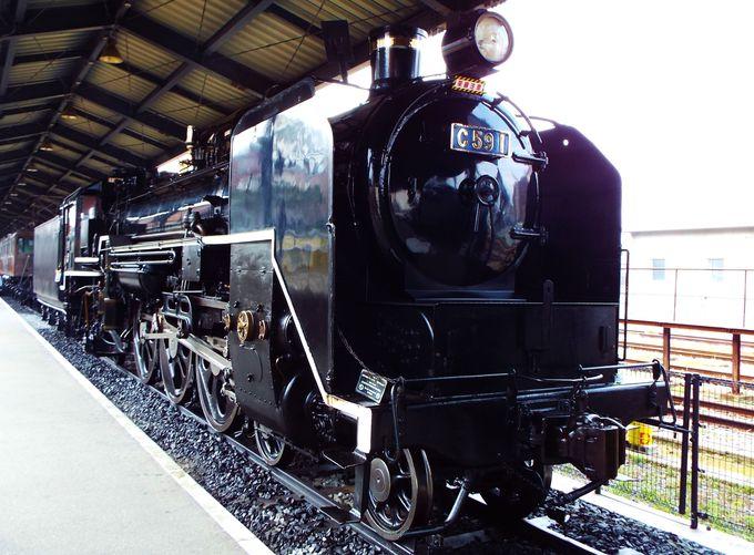 蒸気機関車の迫力に、名列車「月光」の復活!