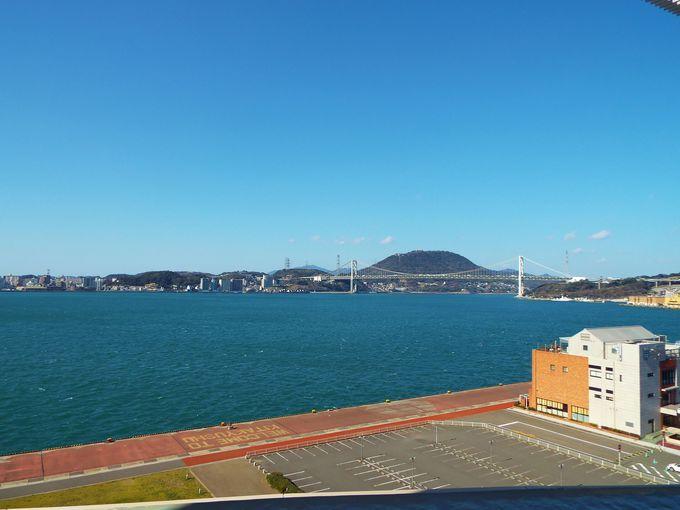 関門海峡を180度観覧!海峡の歴史も堪能できる