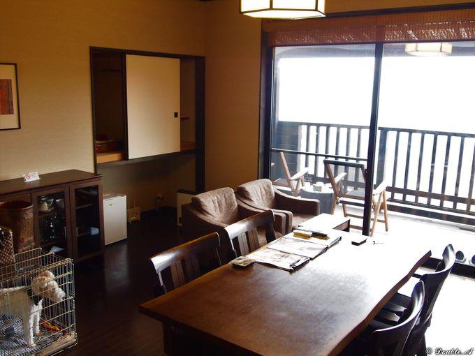全室75平米超のゆとりと絶景の客室