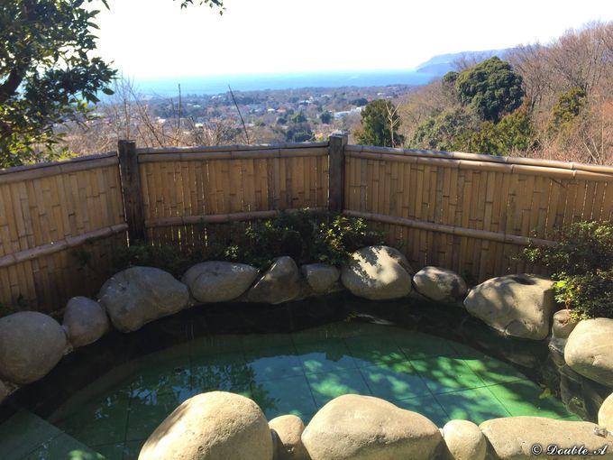 絶景温泉露天風呂は、飼い主にも愛犬にも上質