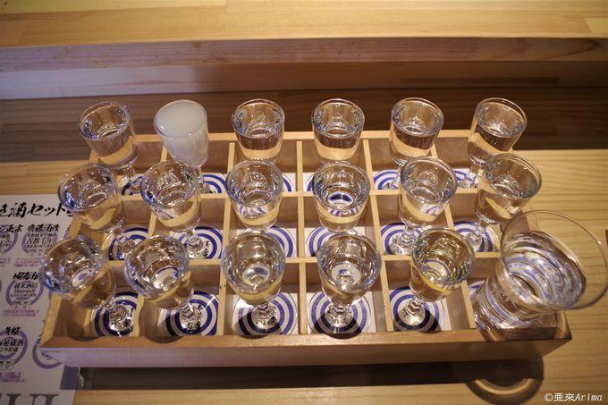 【夜】夜まで楽しみ尽くすなら「伏水酒蔵小路」で日本酒呑み比べ