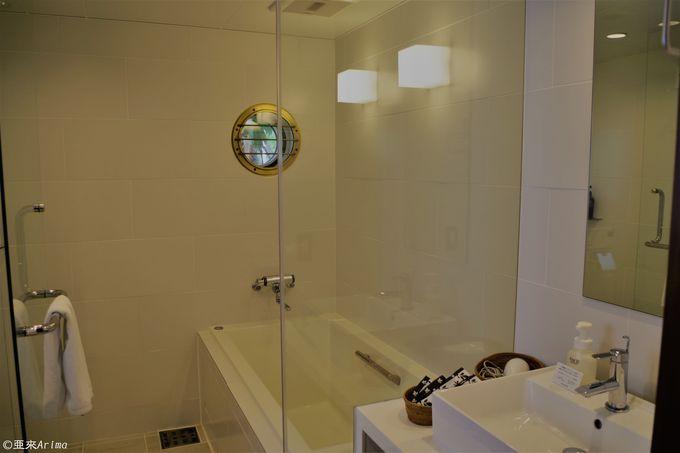 スタイリッシュ&快適バスルーム