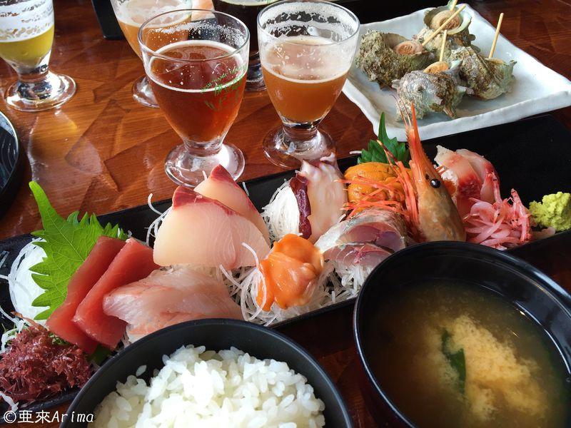 静岡「伊豆高原ビール」でディープインパクトな漁師めしと地ビールの乱れ打ち!