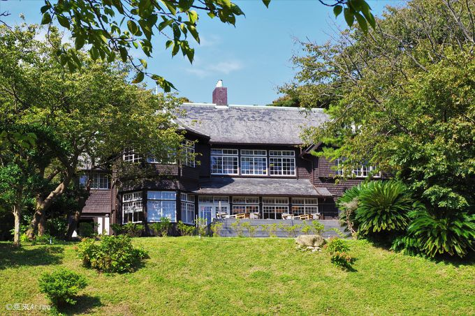 鎌倉の歴史薫る邸宅、三大洋館「古我邸」