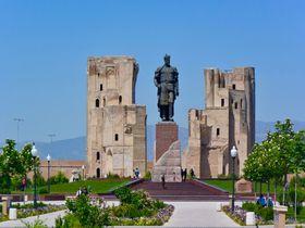 ウズベキスタンの英雄・ティムールの故郷「シャフリサブス」は世界遺産