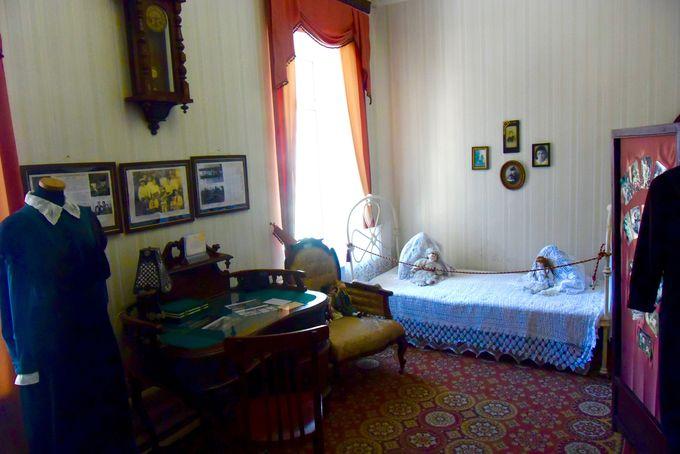 女の子の部屋は可愛らしい装飾でいっぱい